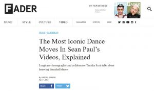 FADER - The Most Iconic Dance Moves In Sean Paul's Videos, Explained