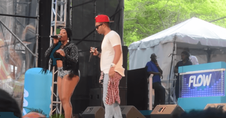 Destra Garcia Live at Soca On De Hill 2015