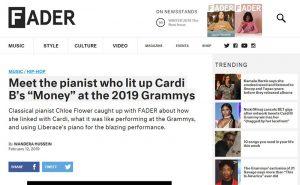 FADER - Cardi's Pianist Grammys 2019