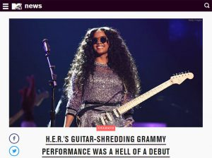 MTV News - HER Grammys 2019