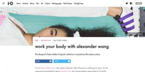 i-D - work your body with alexander wang