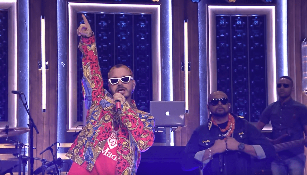 Sean Paul & J Balvin - Contra La Pared (Jimmy Fallon)