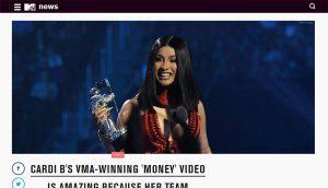 MTV Cardi B 2019
