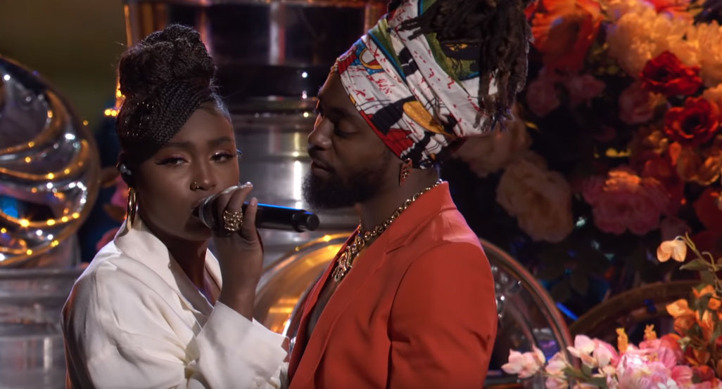 Tiana-Major & EarthGang - Collide (Soul Train Awards)